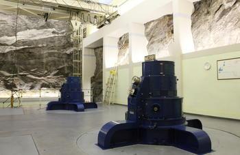 Maskinsalen Håkvik kraftverk