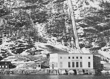 Nygård kraftverk 1932