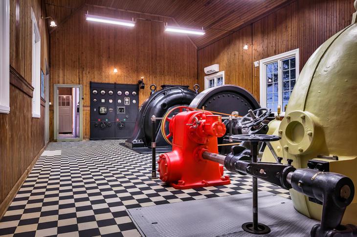 Mølnfoss museum. Foto: Punsvik foto