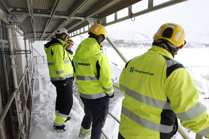 De to konsernene Nordkraft og Hålogaland kraft fusjonerer i april.