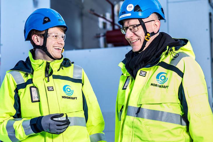 Raymond Wang og Ørjan Steien.