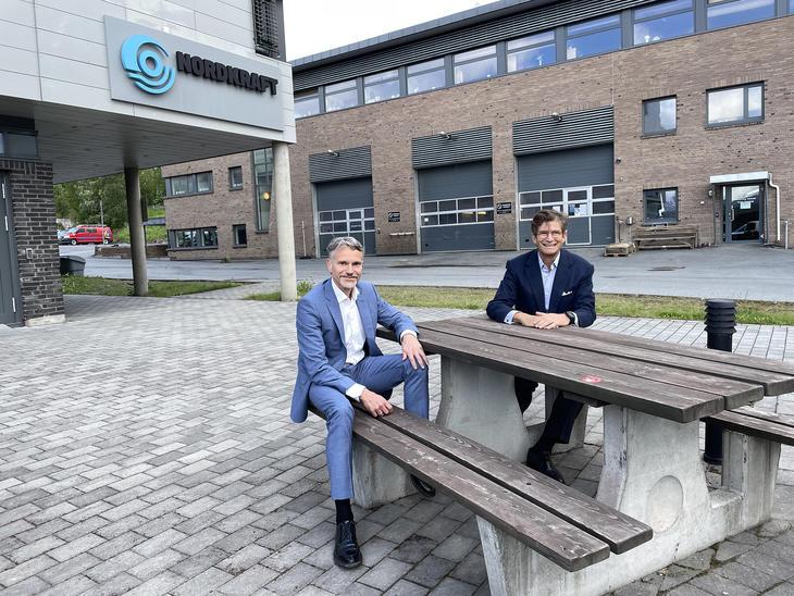 Eirik Frantzen og Jacob Stolt-Nielsen ser frem til samarbeidet.