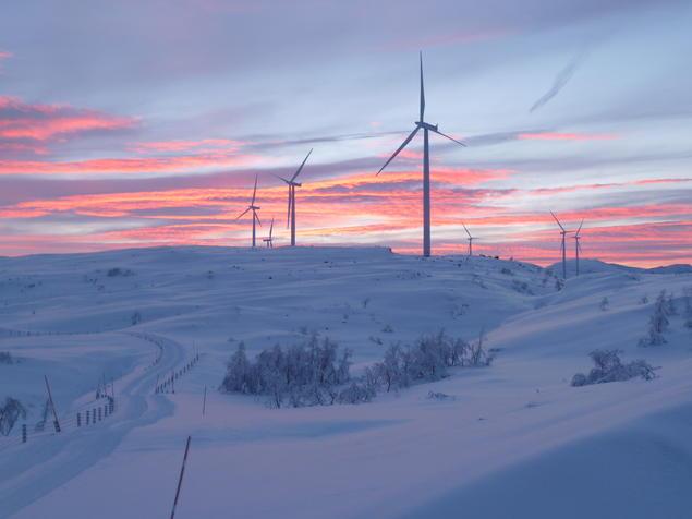 Nygårdsfjellet vindpark