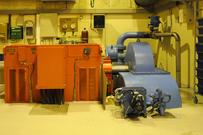Maskinsalen Taraldsvik kraftverk