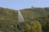 Geysiren ved Taraldsvik kraftverk
