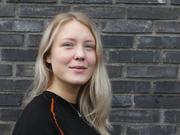 Energimontørlærling Hanna Bendiksen