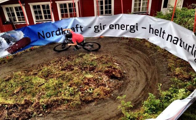 Sykkelløype Ankenes Alpinklubb
