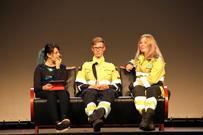 Energy on the loose 2017. Selda Ekiz intervjuer rollemodellene fra Martin Søderholm fra Statkraft og Hanna Bendiksen fra Nordkraft.