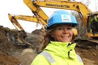 Prosjektleder Hanne Enevoldsen på Hesjeberg.