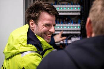 Måler- og tilsynsingeniør Ruben Johansen. Foto: Michael Ulriksen