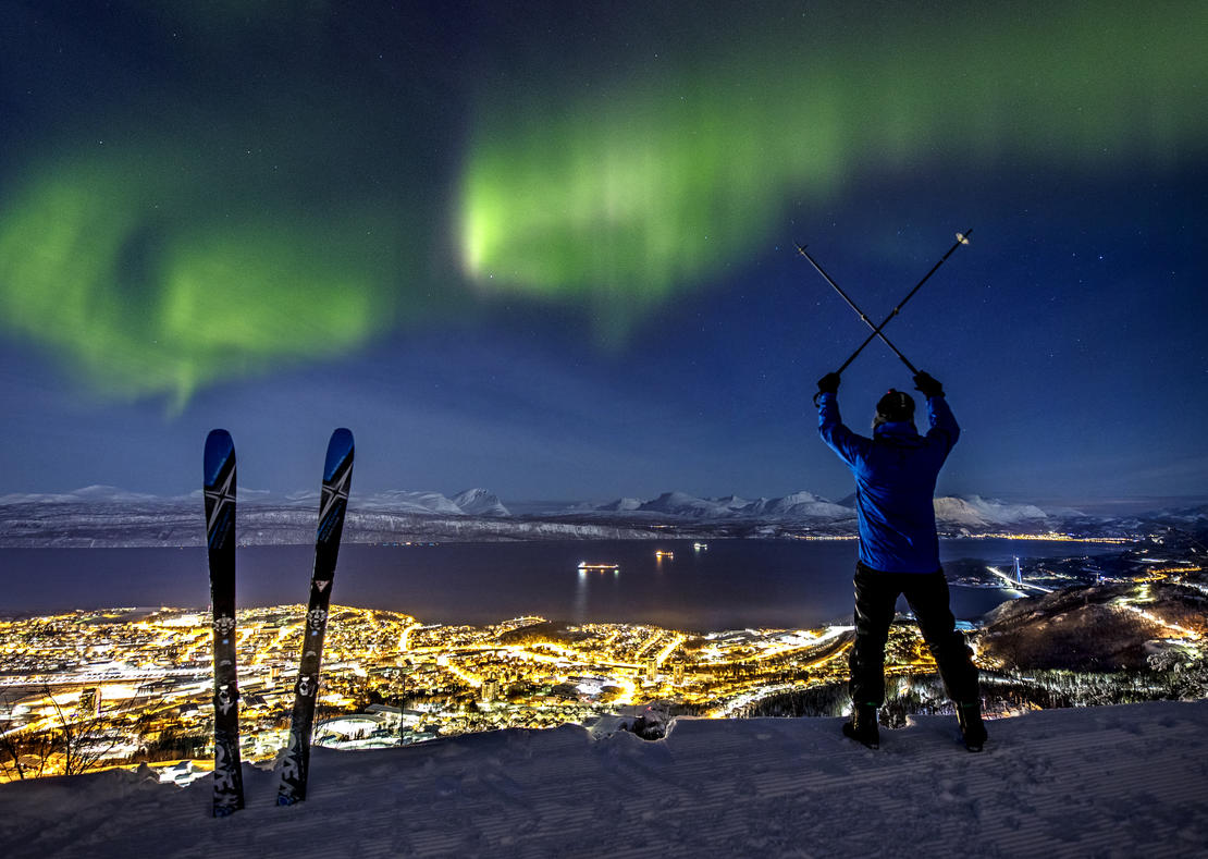 Narvik/Aurora borealis