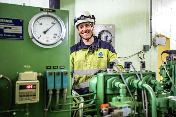 Energioperatør André Olsen. Foto: Michael Ulriksen