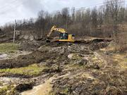 Utbygging av småkraftverk i Ullsfjord våren 2019
